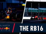 Red Bull's RB16 hits the track at Silverstone