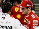 Leclerc's pole time out of reach for Mercedes - Lewis Hamilton