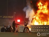 Motorsport Images photographer Andy Hone wins award for Grosjean fireball picture