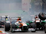 Di Resta reprimanded for collision