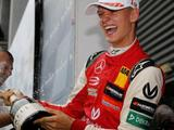 Michael Schumacher's son, Mick, wins first race at same circuit as his father