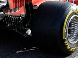 Ferrari tries Mercedes-style wheel concept