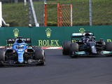 Alonso taught Hamilton the racing line in F1 Hungarian GP battle
