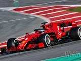 Ferrari engine issue curtails Vettel's F1 testing running