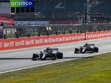 Mercedes judged Bottas' tyres after stop to extend Hamilton stint in 70th Anniversary GP