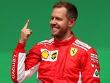 Vettel 'not too bothered' about overtaking Hamilton