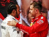 A touch of class from Vettel to Hamilton