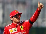 Ferrari happy with 'team player' Leclerc