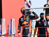 Verstappen coy about future chances after shock win