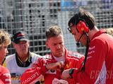"Vettel ""confused"" by F1 race start switch, grid girl drops"