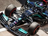 Hamilton heads Leclerc in second Turkish GP session