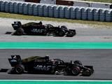 Haas held clear-the-air talks after close call