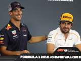 Brown: Ricciardo equal to Alonso over one lap