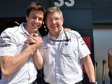 Toto Wolff says he would welcome Ross Brawn back to F1