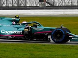 Vettel: Aston Martin 'allowed' to beat Mercedes