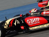 Fire brings an early end to Lotus' day