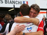 Marussia and Bianchi overjoyed with first championship points