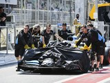Williams F1 chassis in Baku practice drain crash repaired for Spain