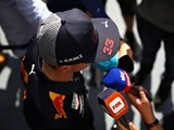 Verstappen: Maybe with a little bit in control