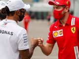 Vettel conflicted with Hamilton on verge of record