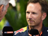 Horner carried engine in suitcase