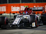 Giovinazzi Left With Thoughts of What Might Have Been after Leading First Laps of Formula 1 Career in Singapore