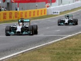 Mercedes team row began in Spain