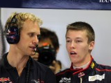 Kvyat preparing for step in to the unknown