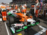 Di Resta 7th as more wheelnut issues hit Sutil