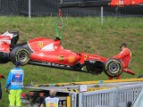 Ferrari confused by Raikkonen's opening lap crash