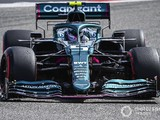 Aston Martin tweaks floor for F1 testing