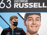 Russell's Mercedes career started 'in the bath'