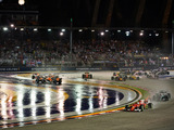 Vettel, Raikkonen crash out of Singapore GP in chaotic wet start