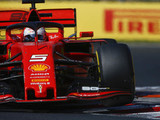 Vettel heads Ferrari 1-2 in FP2
