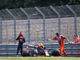 Red Bull pace impresses on eventful Friday