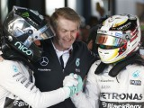 Rosberg will never beat Hamilton to the title - Moss