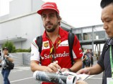 'Alonso is in Japan discussing his future at Ferrari'