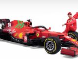 Ferrari unveils SF21 ahead of F1 pre-season testing