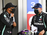 """Team leader"" mentality has prevented bust-up with Bottas - Hamilton"