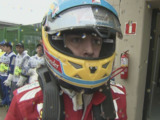 Alonso explains 'the Ferrari stare' image