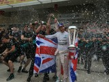Hamilton 'overwhelmed' following title triumph