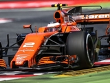 Vandoorne makes 'first overtake' of 2017