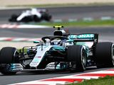 Bottas sets early pace in Barcelona testing
