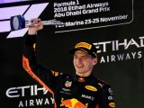 Max Verstappen was 'very happy' with third in Abu Dhabi GP amid a tough start and oily ending