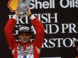 Flashback: The one and only - Senna's British GP win