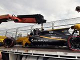 Palmer caught 'massively by surprise' by FP2 crash