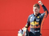 Max Verstappen: I was clinging on to the tyres at the end