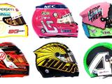 Helmet guide: All 20 Formula 1 drivers helmets