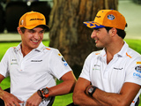 Norris 'joking' with Sainz about Ferrari swap