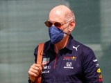 Newey back from bike crash, finds Red Bull issues